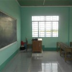 Inside the classroom: here, great minds will flourish.